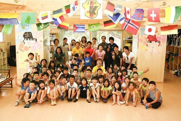 トッズ、北澤豪と宮城石巻の子供達の心をケア。チャリティーサッカー教室実施