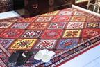新宿伊勢丹、ペルシャ絨毯の伝統美を紹介。サヘル・ローズトークショーも