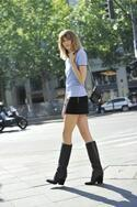 ジミー チュウの秋冬キャンペーンに、ストリートスナップ常連のヴェロニカ・ハイルブルンナー登場