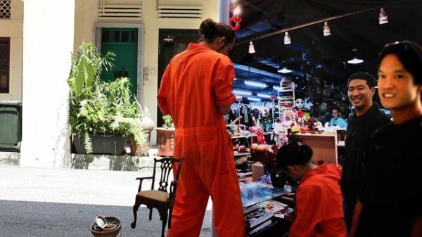 日常の楽園#1-シンガポール、2010年、ビデオ