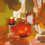 """ディプティックから3種のクリスマス限定キャンドル。冬を感じさせる""""暖かい""""香り"""