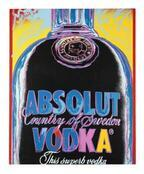 アンディ・ウォーホルデザインボトルを復刻、ウォッカ「アブソルート」から5,200本限定販売