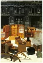 アンティークルイ・ヴィトンの展覧会。紙で見せる100年前のヴィトン伝説