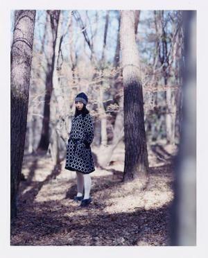 ミナペルホネンのイメージブック「紋黄蝶」より
