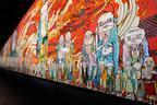 村上隆の大作「五百羅漢図」が森美術館で日本初公開