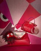 フェンディのモンスター「バッグバグズ」に、中国の旧正月を祝うレッドカラーのコレクション登場
