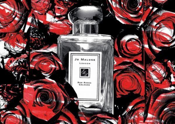 「ジョー マローン ロンドンの「レッド ローズ コレクション」
