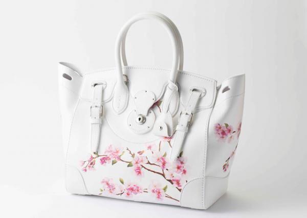 ラルフ ローレン「桜リッキーバッグ」(41万5,000円)