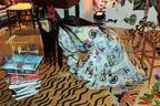 ケイタマルヤマ、丸山邸にて洋服が匂い立つインスタレーションのおもてなし【2017春夏ウィメンズ】