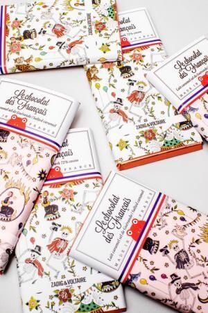 ザディグ エ ヴォルテールがル・ショコラ・デ・フランセとのコラボレーションチョコレート(1,200円)を発売