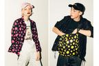 X-girl&XLARGEが、展覧会「草間彌生 わが永遠の魂」とのコラボコレクションを発表