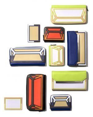 カードケース(1万8,000円)、ジップウォレット(6万円)、フラップウォレット(6万8,000円)、コインパース(3万円)