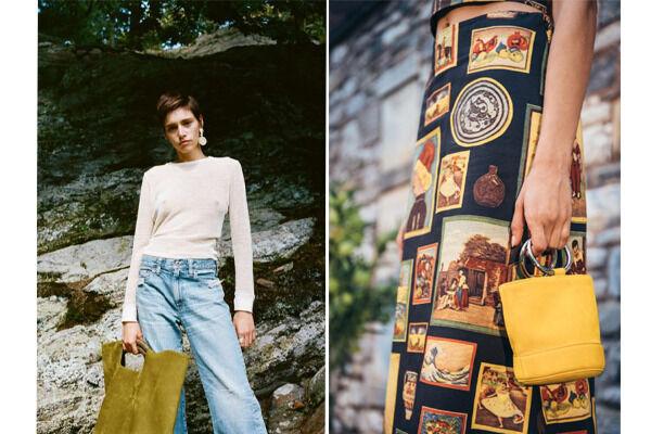 サイモン ミラーより繊細な色のグラデーションで表現されたバッグの新色が発売