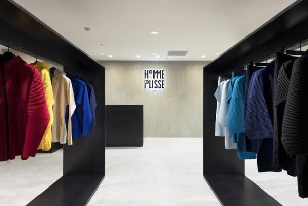 オム プリッセ イッセイ ミヤケが福岡・博多阪急百貨店に新店舗をオープン