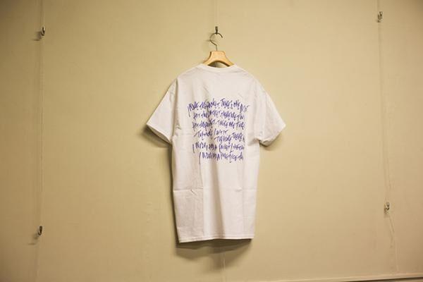 GREEN NOTE×Yoichiro Uchida Tシャツ(3,500円)