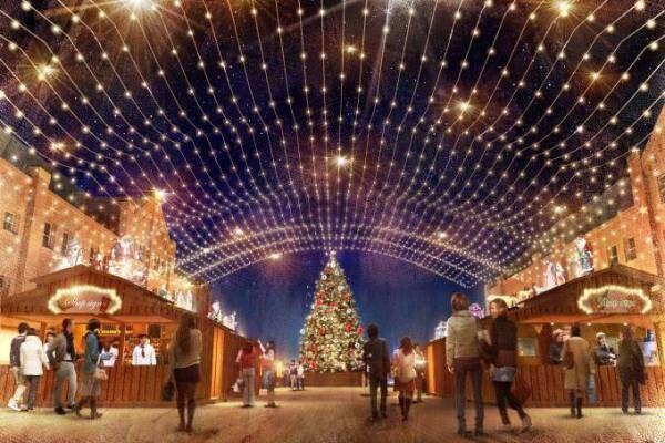 横浜赤レンガ倉庫のクリスマス! 2017年はドイツ・ケルンのマーケットが出現