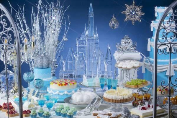 ヒルトン東京のクリスマスデザートブッフェはシンデレラがテーマ!
