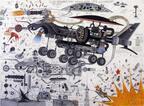 パリのフォンダシオン ルイ・ヴィトンでアフリカ出身アーティストの作品を集めた展覧会を開催