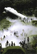 霧のアーティスト中谷芙二子と科学者の父・宇吉郎による展覧会、銀座メゾンエルメスで開催