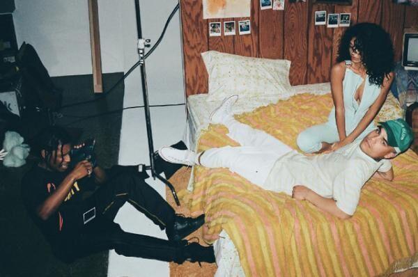A$AP Rocky×ゲス オリジナルズのカプセルコレクション「Ice Cream and Cotton Candy Club」