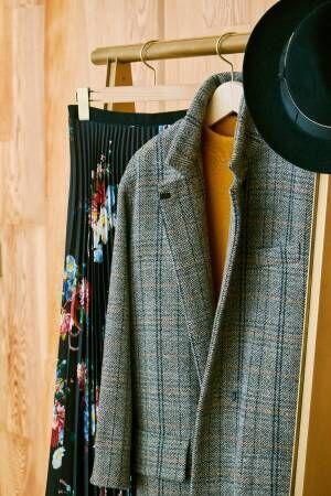 コートを携えて駆け出す冬の午後。インスピレーションで選んだとっておきの1着に包まれて【サローネの冬仕度】