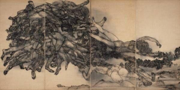 ベルナール・ビュフェ美術館で開館45周年企画展「絵画と想像力 ベルナール・ビュフェと丸木位里・俊」開催