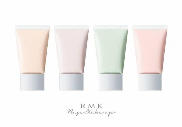 RMK、透明感を引き出すコントロールカラーと軽やかなつけ心地のカラークレヨンが新登場
