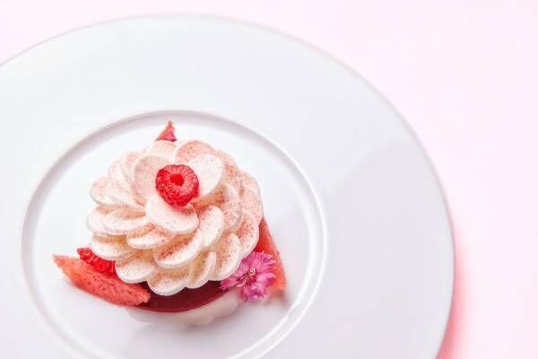 ベージュ アラン・デュカス 東京、バレンタイン当日に限り特別メニューを提供