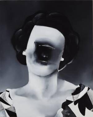 モノクロームで描く独自の絵画世界。五木田智央の個展「PEEKABOO」東京オペラシティで開催