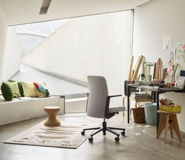 """スイスの家具メーカーVitra×イラストレーター長場雄が提案する理想の""""ホームオフィス""""とは...?"""