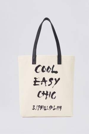 3.1 フィリップ リム、キャンバス地バージョンの伊勢丹限定トートバッグを発売