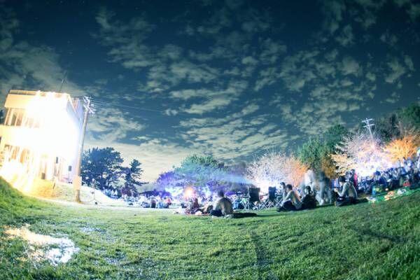 旅する野外映画フェスの今年の舞台はサーキット! 「夜空と交差する森の映画祭2018」開催
