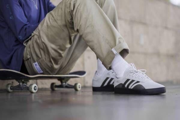 アディダス スケートボーディングより、革新的なニューシルエットが誕生! 新作シューズ2モデルを展開
