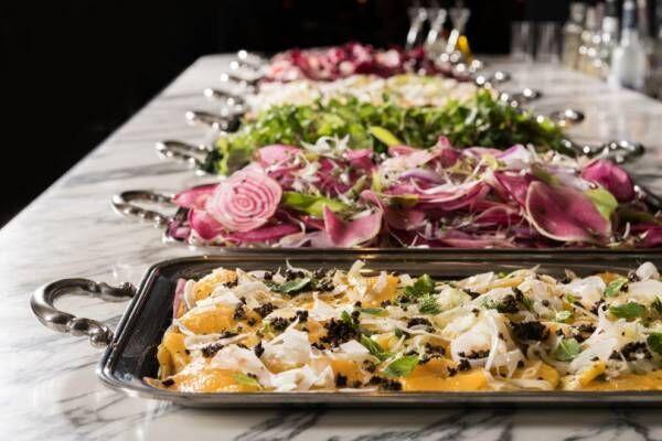 30種類の食材を使用したカラフルな「イタリアンサラダブッフェ」がスタート! 表参道ヒルズ・フラテリパラディソにて