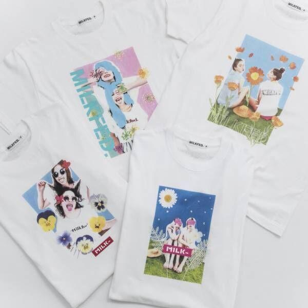 米原康正×フラワーアートユニット・プランティカの展覧会が南青山で開催! ミルクフェドとのコラボTシャツも