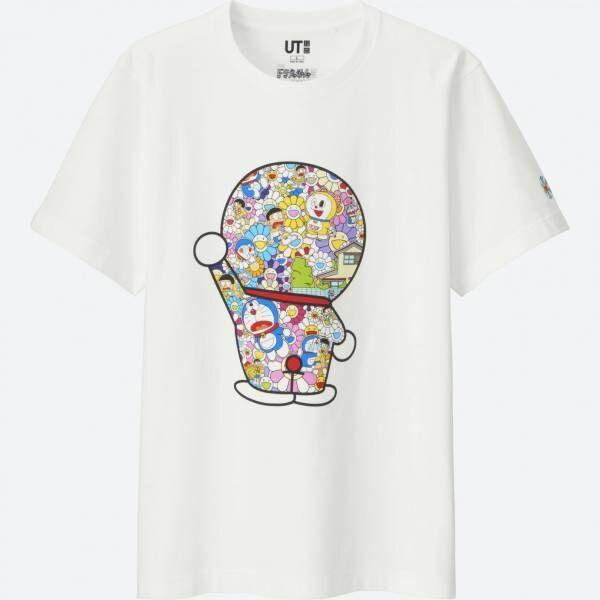 UT×村上隆「ドラえもんUT」15アイテム登場! Tシャツに、ドラえもんのぬいぐるみも