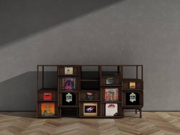 レコード好きのために作られた家具、大沢伸一やライムスターDJ JINとコラボレーション