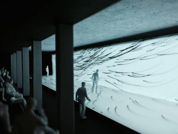 コーネリアス小山田圭吾の新曲を気鋭作家が映像化、東京ミッドタウンで「音のアーキテクチャ展」開催