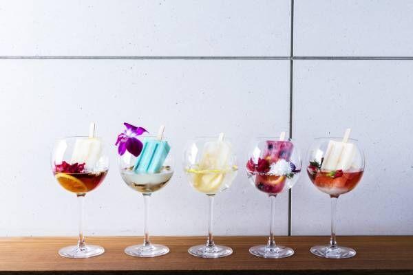 スイカの器で楽しむかき氷やピーチアフタヌーンティー、アンダーズ 東京にトロピカルな夏メニューが登場