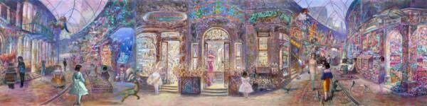 スタジオジブリ『耳をすませば』の背景で知られる画家・井上直久の個展が阪急うめだ本店で開催