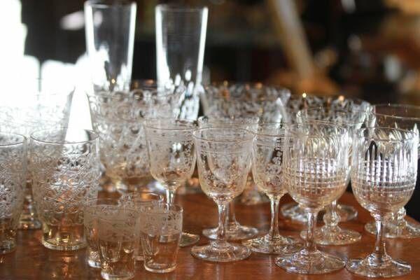 オールドバカラのクリスタルグラスが一堂に! パスザバトン丸の内店にてフェア開催