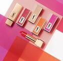 イヴ・サンローラン、「ルージュ ピュールクチュール」の限定デザインキャップが登場! スネークレザー調の全4色展開