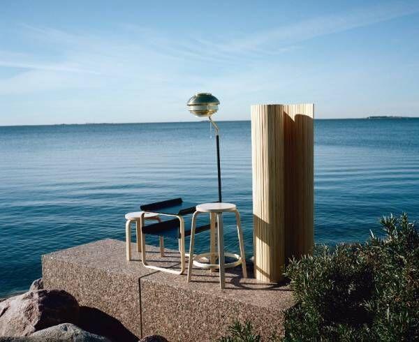 北欧デザインの巨匠アルヴァ・アアルトの回顧展が葉山で開催! 名作スツールやガラス器が一堂に
