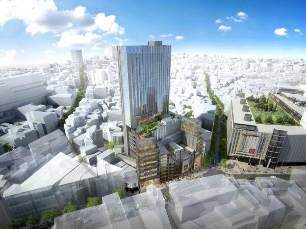 ドンキホーテが旧渋谷店跡地を再開発、ホテルや店舗、オフィスが入る高層ビルを建設