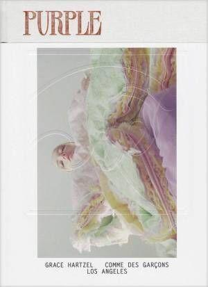 『Purple』の最新刊。グレース・ハーツェルを起用したコム デ ギャルソン特集など【ShelfオススメBOOK】
