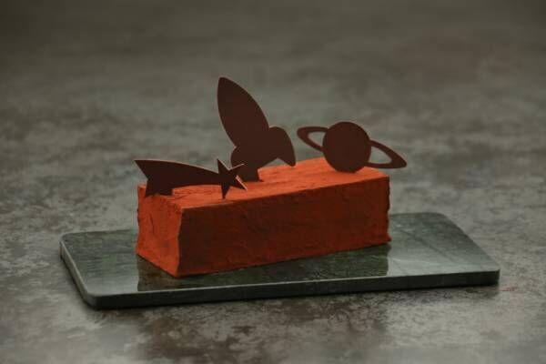 ジャン=ポール・エヴァンのクリスマスケーキ、金閣寺や汽車がモチーフの独創的なビュッシュ ドゥ ノエル