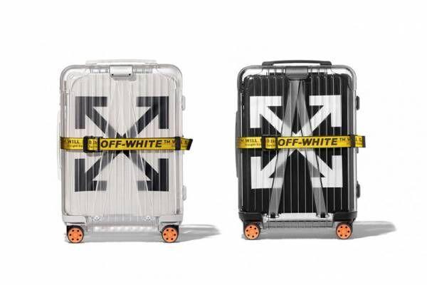 オフ-ホワイト™×リモワ、透明のスーツケース第2弾を発表