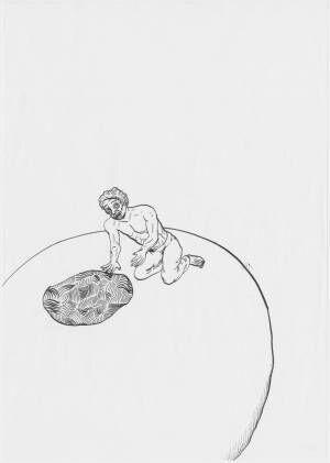 俳優・浅野忠信が描いたデッサンや漫画のドローイング700点が公開に! ワタリウム美術館で「浅野忠信展」