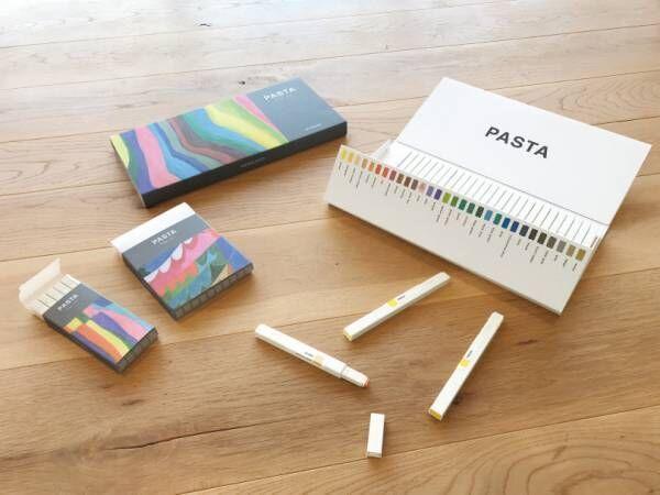 原宿のコクヨカフェでKIGI渡邉良重の原画展が開催、大人のための新しいグラフィックマーカー「PASTA」