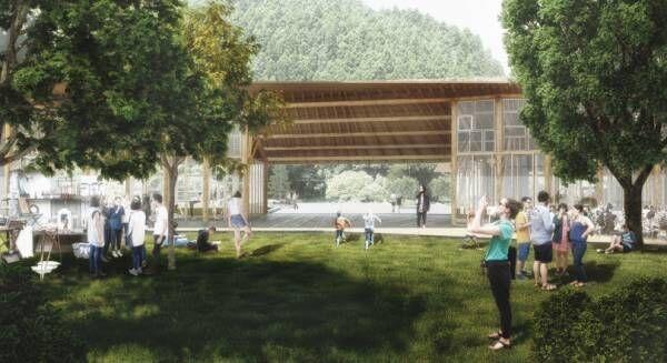 ごみ処理施設にホテル? 徳島県上勝町の世界的エコプロジェクトによる複合施設が2020年春に誕生